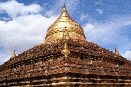 dhamma: Dhamma Yazila pagoda in Bagan, Myanma Archivio Fotografico