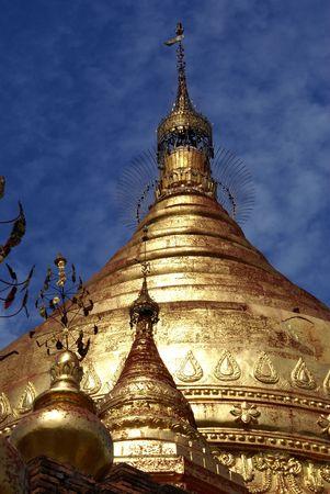 dhamma: Top of Dhamma Yazila pagoda in Bagan, Myanmar