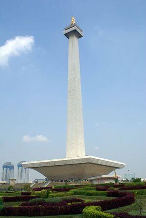 Monument Monas on the Lapangan Merdeka, Jakarta, Java, Indonesia                photo