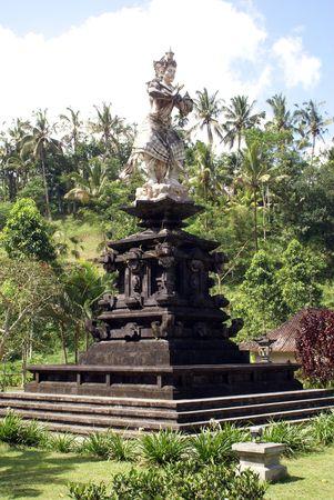 vedic: Monument near entrance of Tirta Empul, bali