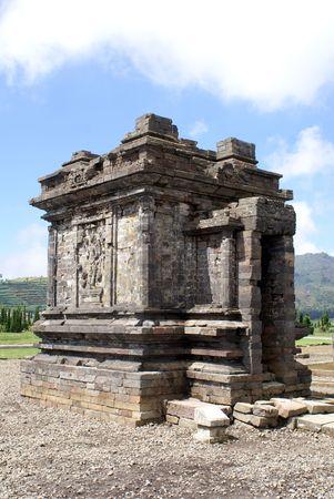 Arjuna temple on Dieng plateau, Java, Indonesia Stock Photo - 3421516