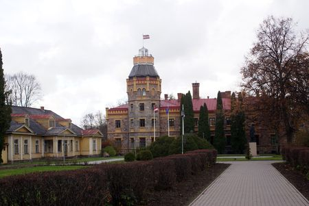 sigulda: New castle in Sigulda, near Riga, Latvia