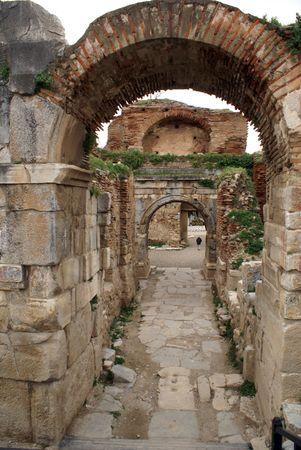 iznik: Arc and Lefke gate in Iznik, Turkey