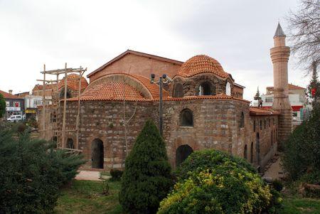 iznik: Church of Aya Sophia in Iznik, Turkey