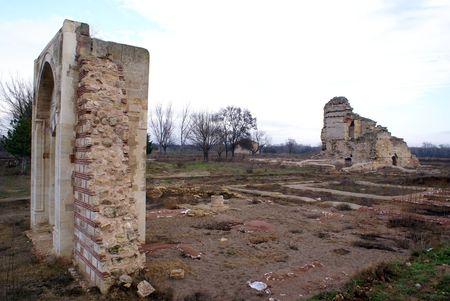 edirne: Ruins of old mosque in Edirne, Turkey