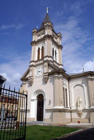 catholocism: Catholic church on the street in Odessa, Ukraine