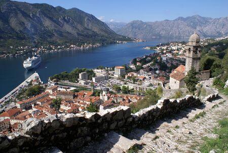 Cruise ship near Kotor, Montenegro Stock Photo - 7491144