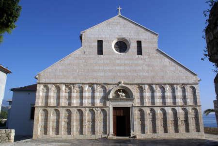 Church in Rab, Croatia                photo
