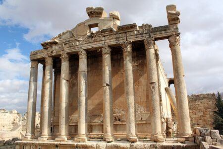 bacchus: Big roman Bacchus temple in Baalbeck, Lebanon