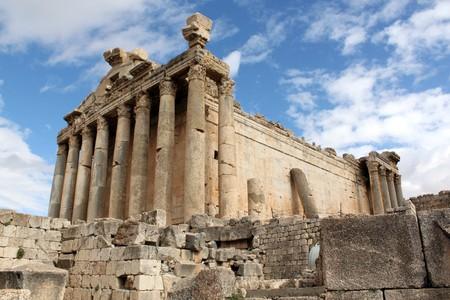 bacchus: Roman Bacchus temple in Baalbeck, Lebanon