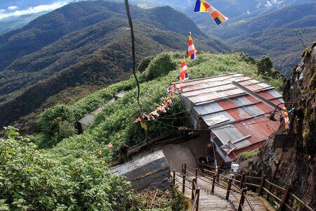 adams: Way down from Adams Peak in Sri Lanka