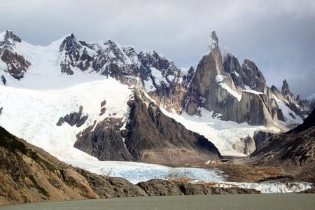 chalten: Lake and mountain near El Chalten, Argentina