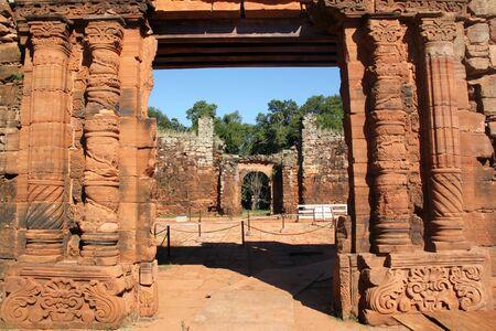 Gate in monastery San Ignasio, Argentina Stock Photo - 7640827