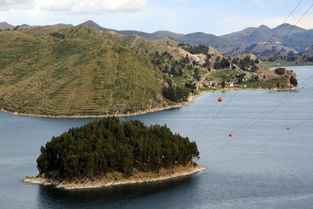 smal: Smal island on the lake Titicaca, Bolivia