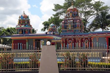 Bigest hindu temple in Fiji, Nadi photo