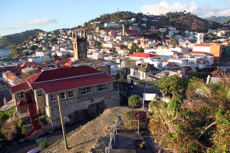 grenada: Capital of Grenada island city Saint Geotrge