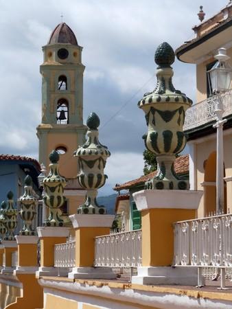 central square: Vasi sulla piazza centrale in Trinidad, Cuba