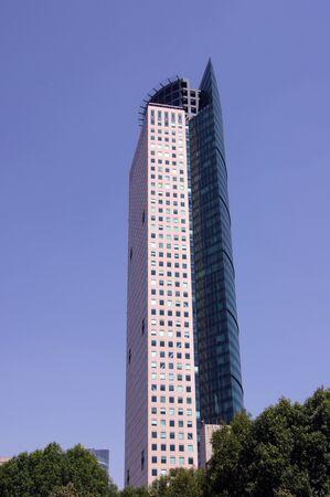 メキシコ メキシコシティのダウンタウンの高層ビル 写真素材