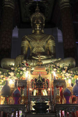 na: Buddha in Wat Na Phramain , Ayutthaya, Thailand