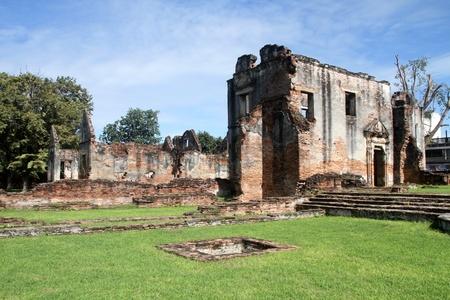 lop: Ruins of hao Phraya Vichayen, Lop Buri, Thailand