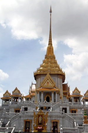 wat traimit: Spire of temple in new wat Traimit, Bangkok, Thailand