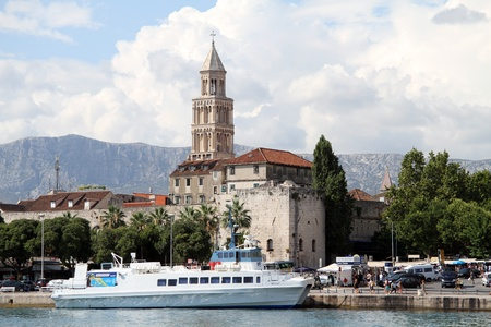 Port in Split, Croatia Stock Photo - 14986870