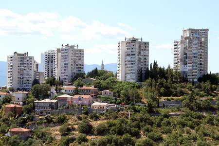 New apartments on the hill in Rijeka, Croatia photo