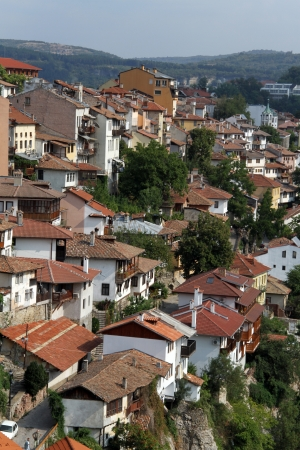 Houses in Veliko Tirnovo, bulgaria photo