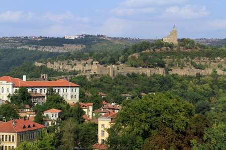 Buildings and fortress in Veliko Tirnovo, Bulgaria photo