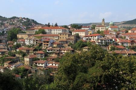 veliko: Veliko Tirnovo in Bulgaria Stock Photo