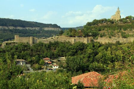Fortress Tsarevets in Veliko Tirnovo, Bulgaria photo