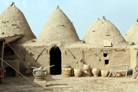 mesopotamian: Traditional houses in Harran, Turkey