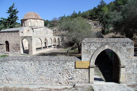 Antifonidis church and monastery in North Cyprus photo