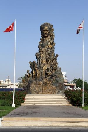 ataturk: Monument of Ataturk in Gazimagusta, North Cyprus