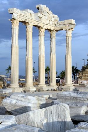 トルコ Side のアポロ神殿の遺跡 写真素材