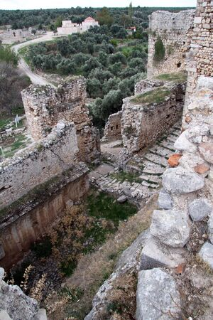 Ruins of fortress near Milas, Turkey Stock Photo - 16651372