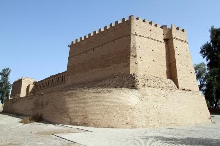 Old stone fortress in Shush, Iran Editorial