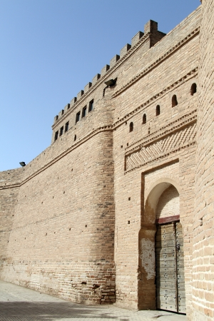 shush: Gate of old fortress in Shush, Iran