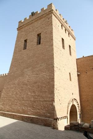 shush: Big tower in fortress in Shush, Iran Editorial