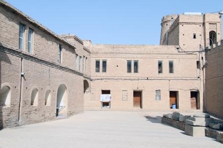 shush: Inner yard of fortress in Shush, Iran
