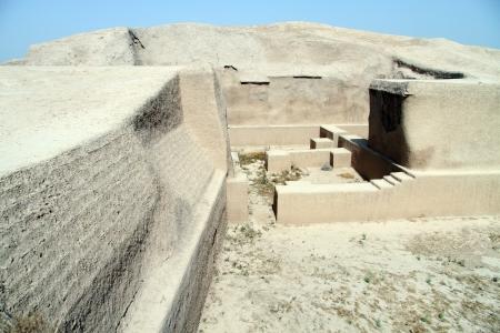 shush: Ruins of Haft Tappeh near Shush, Iran Stock Photo