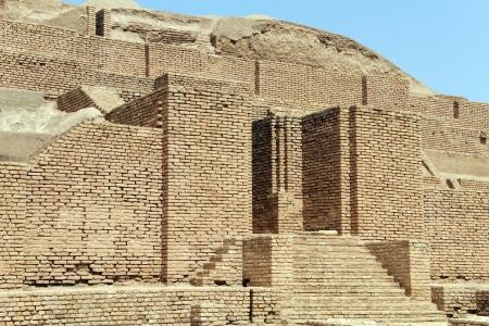 shush: Choqa Zanbil brick ziggurat near Shush, Iran Stock Photo