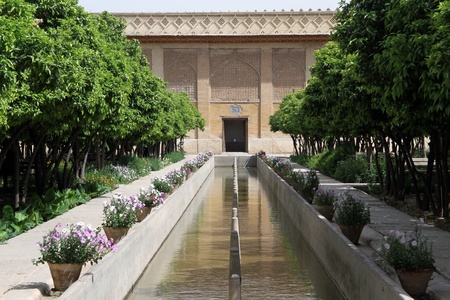 khan: Park in fortress Arg-e Karim Khan in Shiraz, Iran