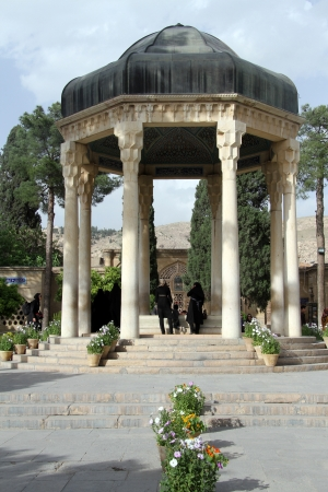 hafez: Tomb of Hafez in Shiraz, Iran