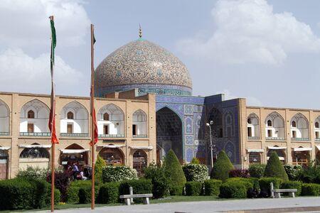 esfahan: Sheikh Lotf Allah Mosque on the Naqsh-e Jahan Square in Esfahan, Iran