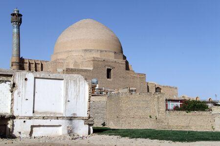 esfahan: Mosque with big dome in Esfahan, Iran Editorial