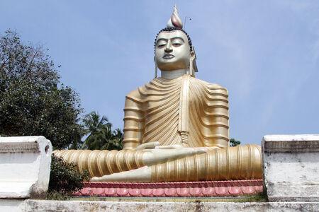 wewurukannala: Big Buddha in Wewurukannala Vihara, Sri Lanka