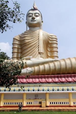 Big Buddha in buddhist Wewurukannala Vihara, Sri Lanka