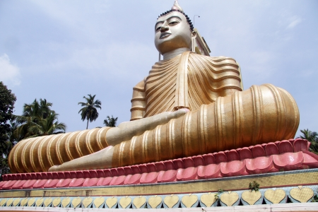Big Buddha in Wewurukannala Vihara near Dikwella, Sri Lanka