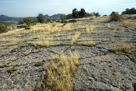 midas: Ancient stone road in Midas, Turkey